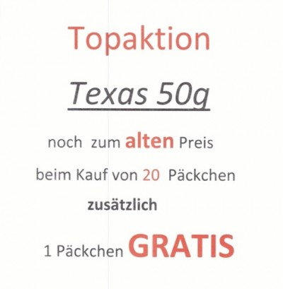 Topaktion Texas 50g
